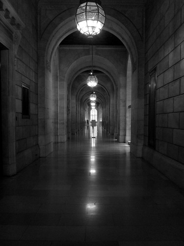 New York Public Library, Hallway