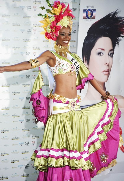 National Costume of Miss Ecuador