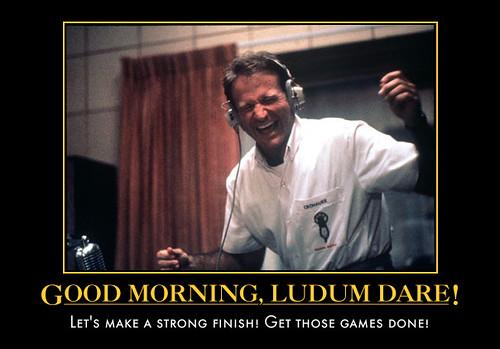 Good Morning, Ludum Dare!