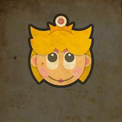 Todos Personagens de Mario Bros Cartoonizado Baby Peach