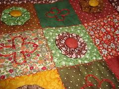 """DSC04605 (""""Feltro Flor"""") Tags: quilt patchwork bolsa bolsas aula molde tecido bordado costura necessaire"""