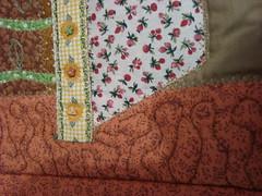 """DSC04613 (""""Feltro Flor"""") Tags: quilt patchwork bolsa bolsas aula molde tecido bordado costura necessaire"""
