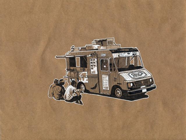 Sâuçá food truck