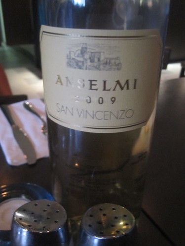 bottle of Anselmi - $15.25