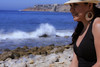 0014_SuzieTest (katNovoa) Tags: lighthouse southbay beachhat pointvincent shortblackdress suzielara