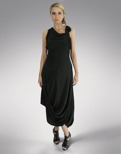 vivienne westwood dress black. Vivienne Westwood Anglomania, Looped Hem Crossback Dress, Black, Size 10. Original Retail Price £400. Rental Price £100. Ref 00005