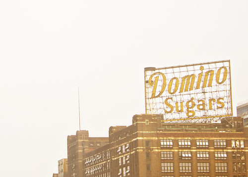 Domino Sugars Sign