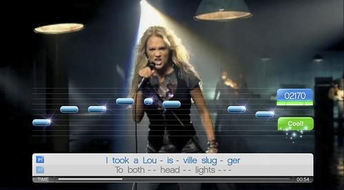 SingStore Update Carrie Underwood_Before He Cheats