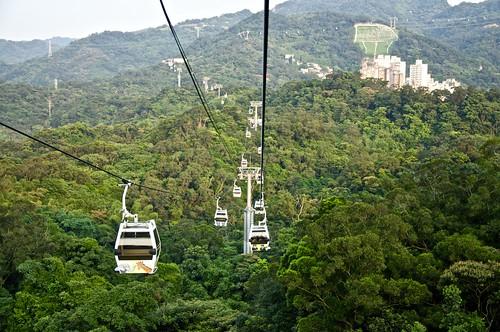 Taipei gondolas