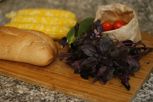 Cooking with Kids: Balsamic Tomato, Corn and Cucumber Panzanella ...