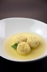 Matzah Ball Chicken Soup