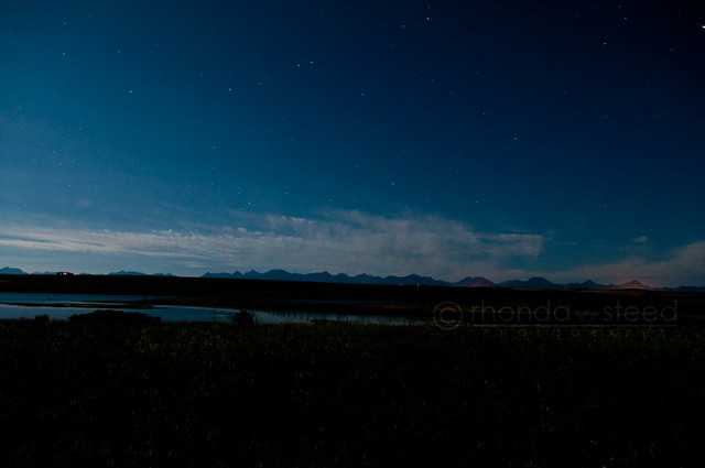 The Rockies at Night