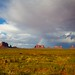 Rainbow over the West Mitten Butte