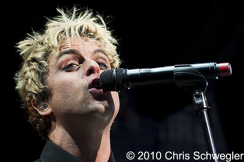 Green Day - 08-23-10 - DTE Energy Music Theatre, Clarkston, MI