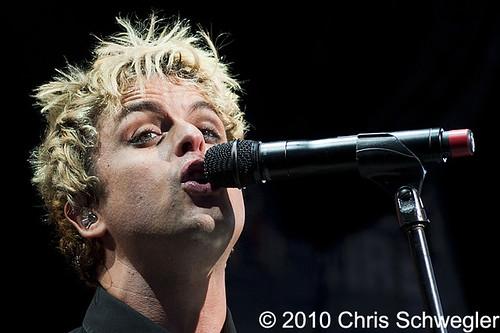 Green Day - 08-23-10 - DTE Energy Music Theatre, Clarkston, MI