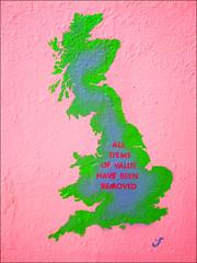 all items of value have been removed (Simon_K) Tags: norwich norfolk larkin kennedy philiplarkin robertkennedy bobbykennedy comprehensivespendingreview deficitreduction csr georgeosborne publicspending publicspendingreductions materialism tory labour welfare welfarecuts assetstripping wasteofmoney privatisation nationalisation welfarescroungers idlerich chavs jeremykyleshow strategicdefencereview conservativeparty coalition government londonriots riots ukriots tottenham peckham hackney clapham eastend enfield police rioters hooligans thieves williamblake graffit graffito stencil graffiti