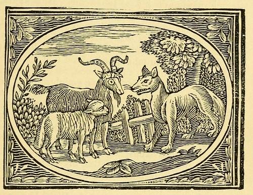 Lupus, Agnus et Capra