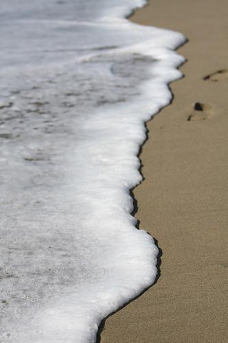 Ocean foam