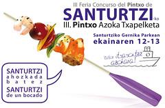 feria concurso de pintxos de Santurtzi