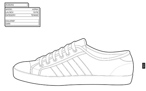 Adidas Shoes Coloring Page Sneaker-coloring-6