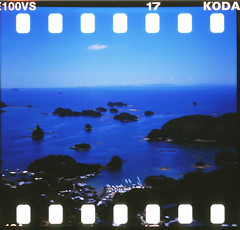 3911 (cocoapowder) Tags: 120 japan 35mm mediumformat lomo lomography kodak diana  ektachrome e100vs sprocketholes kodakektachromee100vs