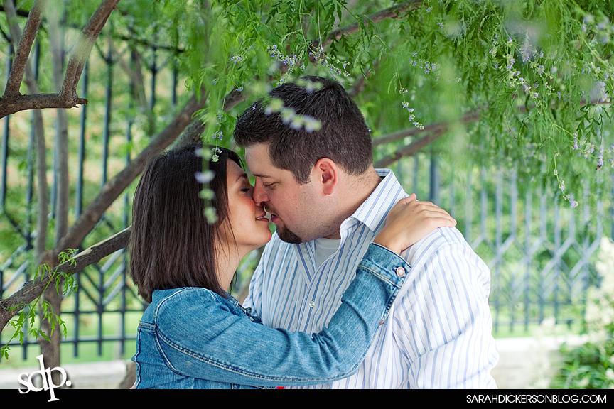 Kauffman Gardens, Kansas City Missouri engagement photographers