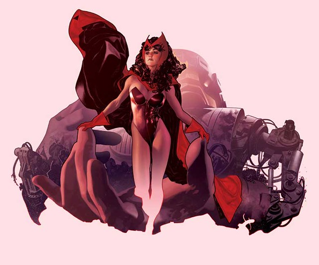 Scarlet_Witch_by_AdamHughes