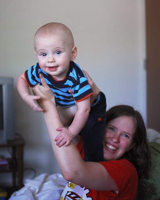 Mom and Nicholas