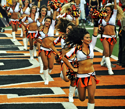 Cincinnati Ben-Gals cheerleaders