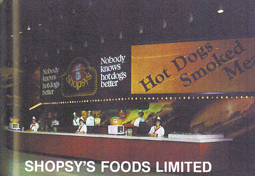 1980 CNE Food Building: Shopsy's