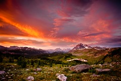 Incredible Banff (Dan Ballard Photography) Tags: world from travel light sunset red favorite mountain lake canada storm mountains color dan nature water colors beautiful grass clouds sunrise landscape rockies photography hope nationalpark amazing flickr heaven gallery photographer photos outdoor hiking top magic great best explore photographs photograph alberta valley stunning land fields banff ballard rockymountains portfolio pick dreamscape cloudscapes banffnationalpark gallary photograpy sunshinevillage healypass alpineglow outdoorphotographer coloradophotographer danballard danballardphotography danballardphotogarphy