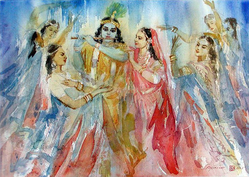 Shri Krishna & Gopis