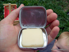 Hard Lotion in Tin