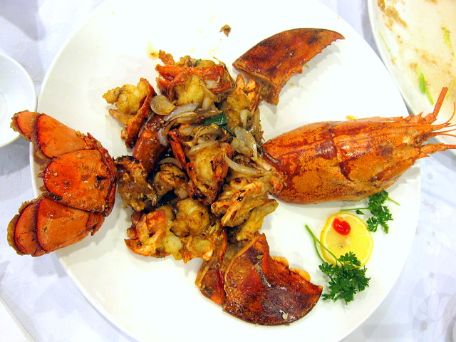 Stir-Fried Lobster with Soy Sauce