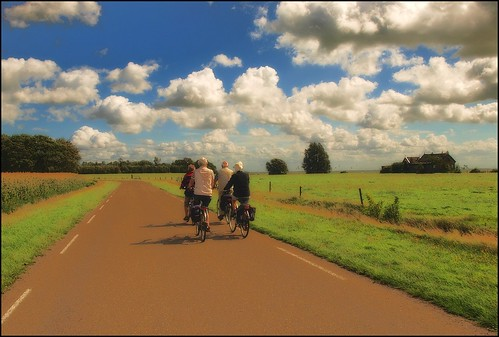 cycle touring - Zuiderzeeroute