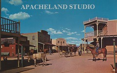 Apacheland Studio - Apache Junction, Arizona (The Pie Shops Collection) Tags: arizona vintage postcard apachejunction moviestudio apacheland