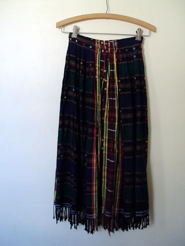 Woven Pattern Skirt
