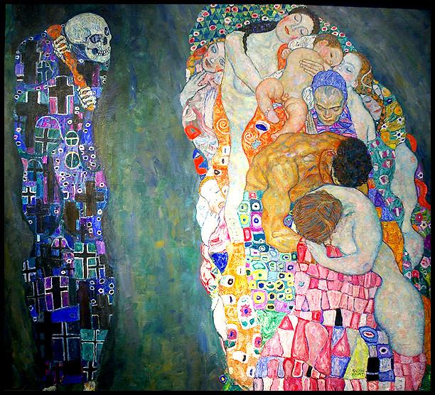 Klimt- death.JPG
