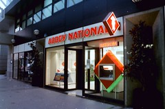 Abbey National South Quay (Tim Brown 59) Tags: london docklands 1990