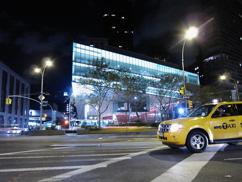 Cab by Lincoln Center