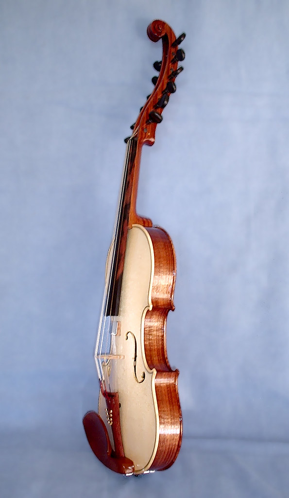 'Sympathetic' violin with Perfection pegs