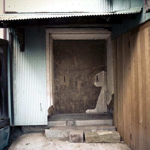 Crooked Step Lock Door