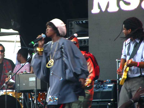 Lauryn Hill at Rock The Bells 2010 #4
