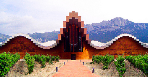 Winery Ysios, Laguardia, Álava, Spain