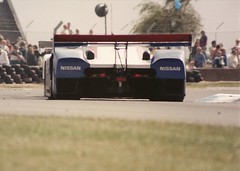 Nissan R89C - Donington 1000Kms 1989 (mendaman) Tags: world sports championship prototype 1989 fia nisan donington r89c