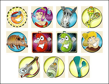 free Salsa slot game symbols