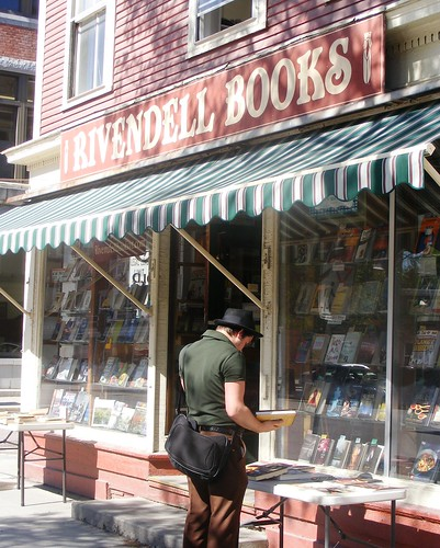 Rivendell Bookstore, Monpelier, Vt., home of Veruca,