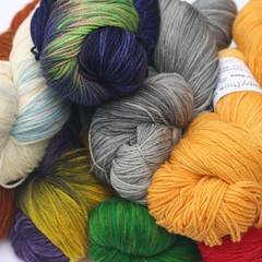 All Your Base 100% superwash merino wool FINGERING/SOCK  yarn Sheepy Time Yarns