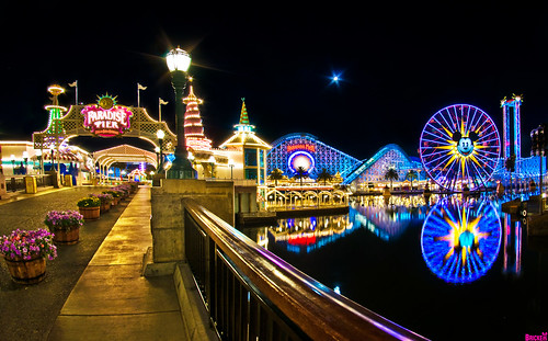 Paradise Pier: Fun in the Sun for Everyone!
