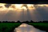 Open the curtains, turn the lights on (drbob97) Tags: lighting light sunset sky sun sunlight netherlands clouds river dark utrecht nederland meadow wolken zon aa sunbeams zonlicht ter mygearandmepremium mygearandmebronze mygearandmesilver mygearandmegold mygearandmeplatinum